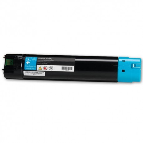 TONER GENÉRICO FOR USE IN XEROX PHASER 6700 CYAN